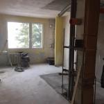 Trutnov - rekonstrukce dvou bytových jednotek v panelovém domě